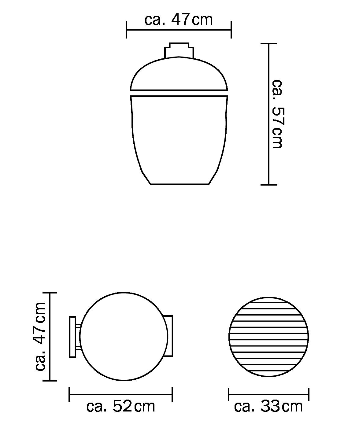 Junior Abmessungen - mit Gestell - ohne Seitentische PNG transparent 1